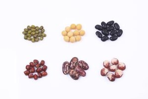Beans don't have a large effect on blood sugar levels.