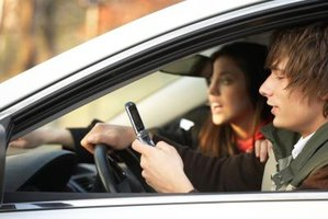 Driving while texting puts passengers at risk as well.