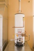 Move quickly to disable a burst hot water heater.