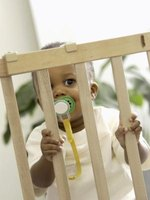 Conventional baby gates can be expensive.