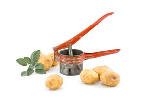 Look for a potato ricer with a large hopper to more easily mash larger servings.