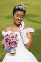 Fancy dress gloves are worn on very special occasions.