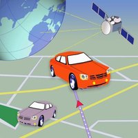 GPS units use satellites to plot and track your position.