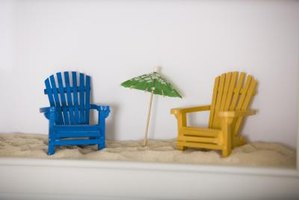 Miniature Wooden Adirondack Chair Crafts Ehow