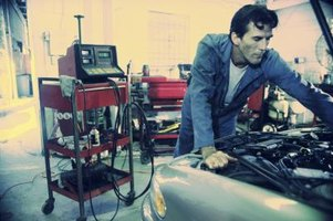 Auto service mechanics have technical and managerial skills.