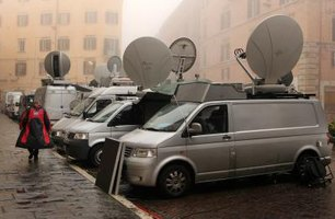 DSNG vans make it possible for news agencies to cover events in remote locations, live.