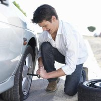 Nail punctures in run-flat tires do not need immediate roadside attention.