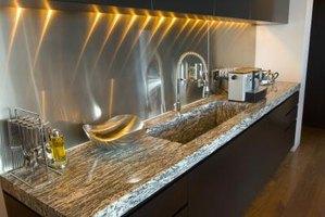 granite corian quartz countertop comparisons ehow. Black Bedroom Furniture Sets. Home Design Ideas