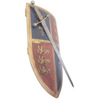 Shields can be made from foam for use in live-action role playing.