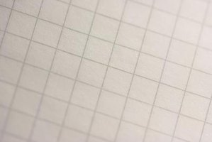Use graph paper to make patterns for many different art and craft projects.