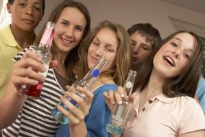 Teens and alcohol are a negative combination.