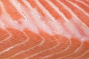 Steaming is a healthy way to prepare salmon.