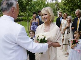 Wedding Etiquette for a Widows Second Marriage eHow