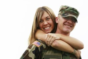 Military members complete Form 1172 for dependents.