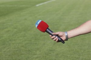 Get close to the action as a sports reporter.