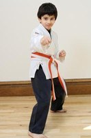 Taekwondo might help a child's physical and mental development.