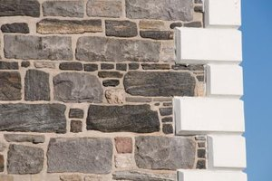 Brick quoins add an attractive architectural feature.