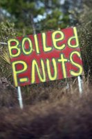 A southern cuisine, boiled peanuts are used most for snacking.