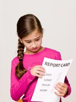Report cards measure a student's progress.