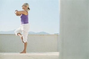 Balance exercises can help seniors improve strength, equilibrium and coordination.