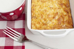 Easy assembly makes egg casserole the star of hassle-free breakfast preparation.