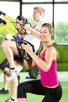 Suspension trainers let you turn any hand weight exercise into a bodyweight exercise instead.