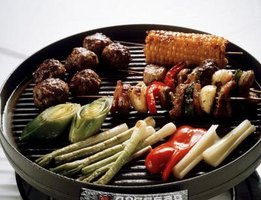 Grill vegetables along with your meat and fish.