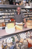 Sliced meats and cheeses are available in artisan and industrial options.