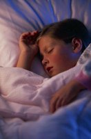 Teeth grinding is a problem for children during sleep.