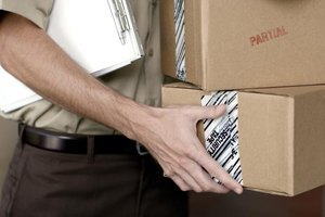 A UPS customer service representative can provide the tracking number.