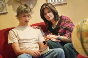 Spending time together helps build your relationship with an aggressive teen son.