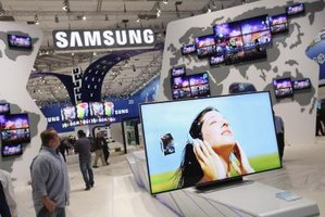Samsung unveiled a line of Smart TVs at the 2011 IFA Trade Show.