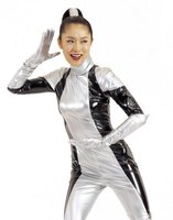 Latex can be used to make a form fitting, often shiny costume