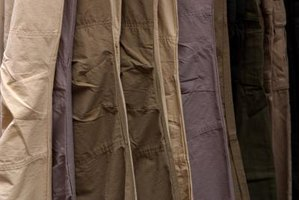 khaki's come neatly pressed or purposely wrinkled for an ultra-casual look.