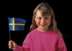 Kids love to make Swedish crafts.