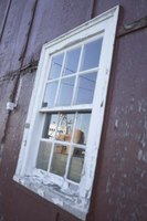 Give an old window a new look with Mod Podge.