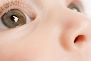 Visual impairment affects an infant's development.