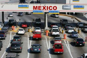 The Mexican border is a 20-minute drive from San Diego.