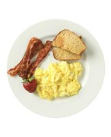 Thanks to the British influence, a typical South African breakfast can include eggs, bacon and toast.