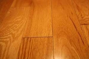 Bare feet will cause only minimal marks on wood flooring.