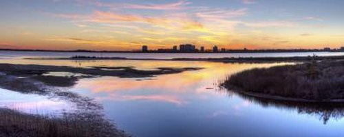 Northern Florida is dotted with stunning vistas accessible by I-10, such as sunsets in Perdido Key.