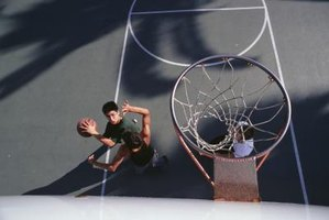 How to Paint Basketball Courts