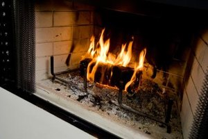 Fireplace heat can melt wires in the chimney chase.
