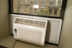 Window units can only cool one room.