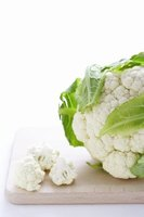 Raw cauliflower has a mildly  bitter flavor.