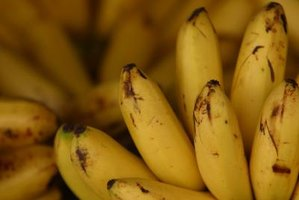 Bananas and other foods contain minerals necessary to maintain a balance of electrolytes in the body.