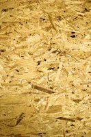 Particleboard is made of pressed wood pieces.