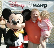 Mickey Mouse appeals to children of all ages.
