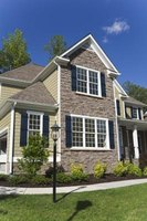 Stone accents change the facade of your home.