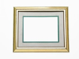 Create your own colored mats for any picture frame.